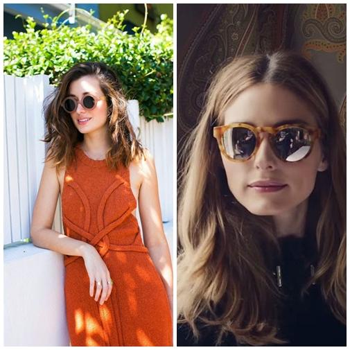 6c184efbf6915 Inspiração Fashion  Óculos de sol coloridos